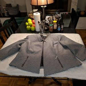 Jones Studio 18w open front blazer